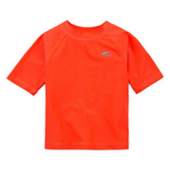 Arizona Boys Solid Rash Guard-Toddler