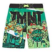 Boys Teenage Mutant Ninja Turtles Swim Trunks-Toddler