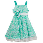 Rare Editions Sleeveless Skater Dress - Preschool