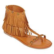 Arizona Gelato Fringe Sandals