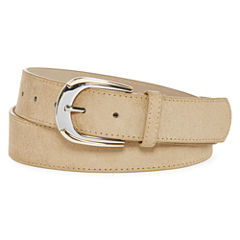 Big Buddha Two-Tone Contour Buckle Belt