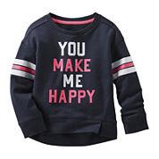 OshKosh B'gosh® Happy Sweatshirt - Preschool Girls 4-6x