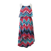 Lilt Sleeveless Chevron Sundress - Girls 7-16
