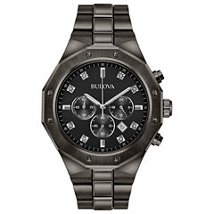 Bulova Mens Gray Bracelet Watch-98d142
