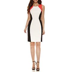 Ronni Nicole Sleeveless Sheath Dress