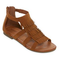 Arizona Alice Girls Flat Sandals - Little Kids