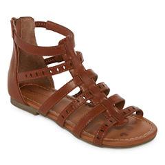 Arizona Adah Girls Gladiator Sandals - Little Kids