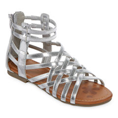 Arizona Bridget Girls Gladiator Sandals - Little Kids