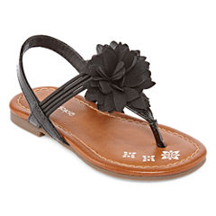Okie Dokie Lil Fleur Girls Flat Sandals - Toddler