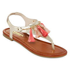 Arizona Sampson Womens Flat Sandals