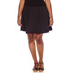 Decree Scuba Skater Skirt - Juniors Plus