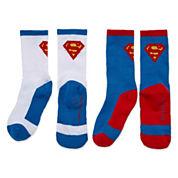 Licensed Properties Ats Superman Crew Socks