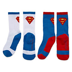 Licensed Properties Superman Crew Socks 2-pc.