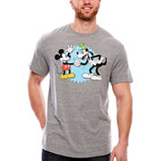 Disney Shake On It Hybrid T-Shirt-Big And Tall