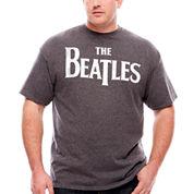 Beatles Logo T-Shirt-Big And Tall