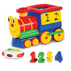 The Learning JourneyRemote Control Shape Sorter, Number Express Train
