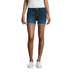 Arizona Midi Shorts-Juniors