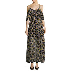i jeans by Buffalo Cold Shoulder Maxi Dress