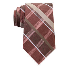 Stafford Comfort Stretch Open Plaid Tie