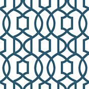 Grand Trellis Peel-and-Stick Wallpaper