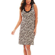 Ambrielle® Sleeveless Nightshirt - Plus