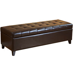 Ellsworth Tufted Storage Bench