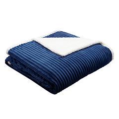 Premier Comfort Parker Corduroy Plush Blanket
