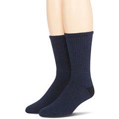 Dr. Scholl's® 2-pk. Non-Binding Casual Crew Socks