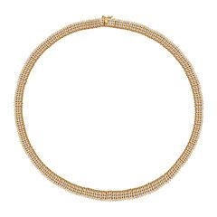 Diamond-Accent Multi-Row Necklace