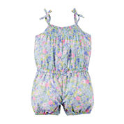 Carter's® Sleeveless Floral Romper - Baby Girls newborn-24m