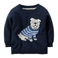 Carter's® Dog Sweater - Baby Boys newborn-24m