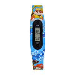 Paw Patrol Boys Pedometer Tracker Strap Watch-Paw4121jc