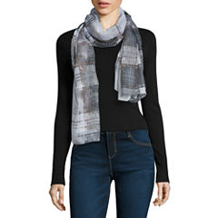 V. Fraas Plaid Scarf