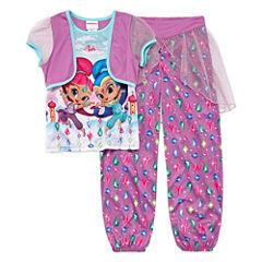 Nickelodeon 2-pc. Short Sleeve-Preschool Girls
