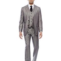Steve Harvey® Black & White Plaid Suit Separates - Classic