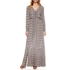 Weslee Rose Long Sleeve Maxi Dress