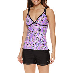 Free Country Medallion Tankini Swimsuit Top