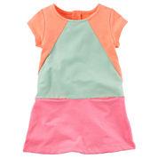 Carter's Long Sleeve Babydoll Dress - Toddler
