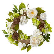 JCPenney Home™ Spring Floral Wreath