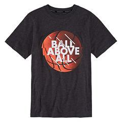 Xersion Boys Short Sleeve Graphic T-Shirt-Big Kid