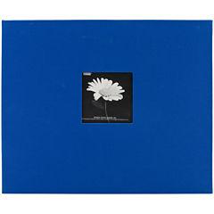 Fabric 3-Ring Binder Album With Window - Black