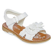 Okie Dokie Blossom Girls Flat Sandals