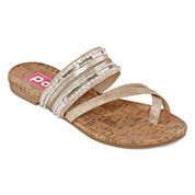 Pop Deal Womens Flat Sandals