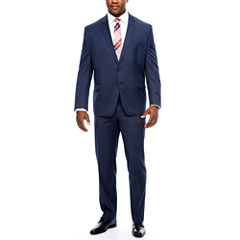 Collection by Michael Strahan Navy Tic Suit Separates- Big and Tall