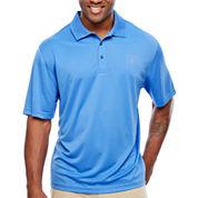 IZOD Short Sleeve Grid Woven Polo Shirt Big and Tall