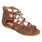 Pop Manny Womens Gladiator Sandals