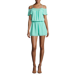 Decree Cold Shoulder Romper - Juniors