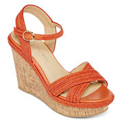 CL by Laundry Como Braided Wedge Sandals
