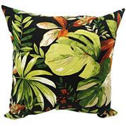 Waikiki Floral Outdoor Pillow