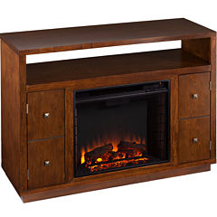 Glen Entertainment Center with Fireplace